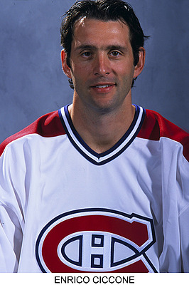 Enrico Ciccone - Bio, pictures, stats and more | Historical Website of the Montreal Canadiens