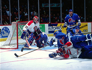 Quebec Nordiques Canadiens Rivalry Notable Moments Stats And More Historical Website Of The Montreal Canadiens