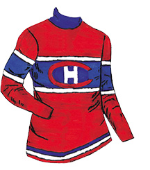 Jerseys Logos 1909 1946 Historical Website Of The Montreal Canadiens